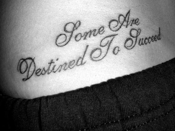 hip tattoo 30 Good Tattoo Quotes You Will Love To Engrave