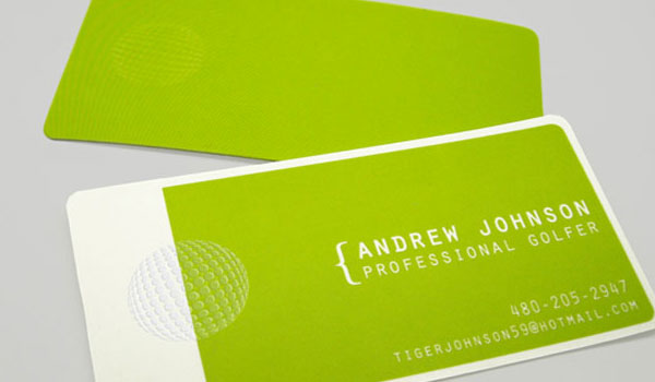 30 Lovely Green Business Cards - SloDive