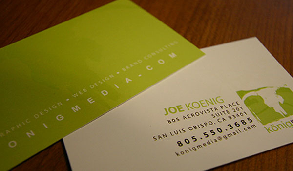 Konig Media Business Card