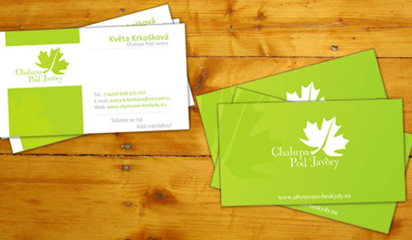 30 Lovely Green Business Cards SloDive