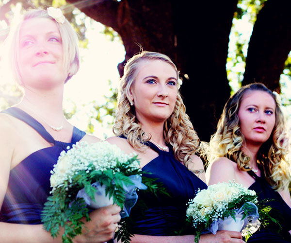 blonde hair 30 Beautiful Hairstyles For Bridesmaids