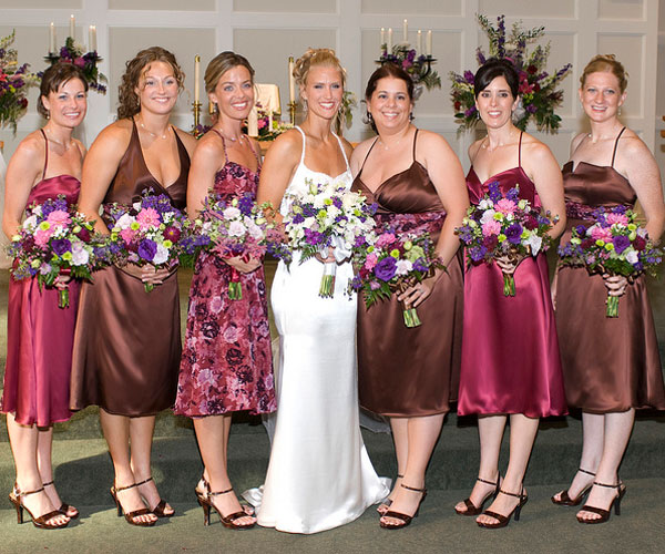 Six Bridesmaids