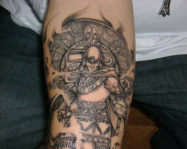 Inca Emperor Tattoo
