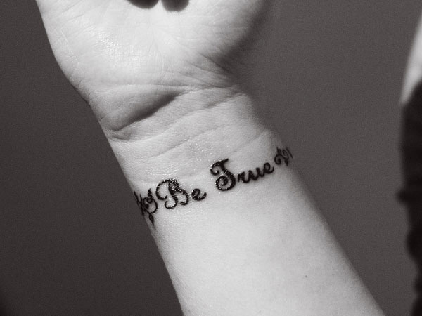 be true 30 Inspirational Tattoos You Should Check Right Now
