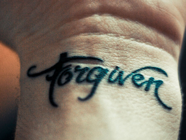 forgiven 30 Inspirational Tattoos You Should Check Right Now