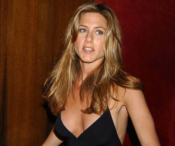 Jennifer Aniston In Black Dress