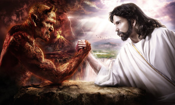 Devil Vs Jesus