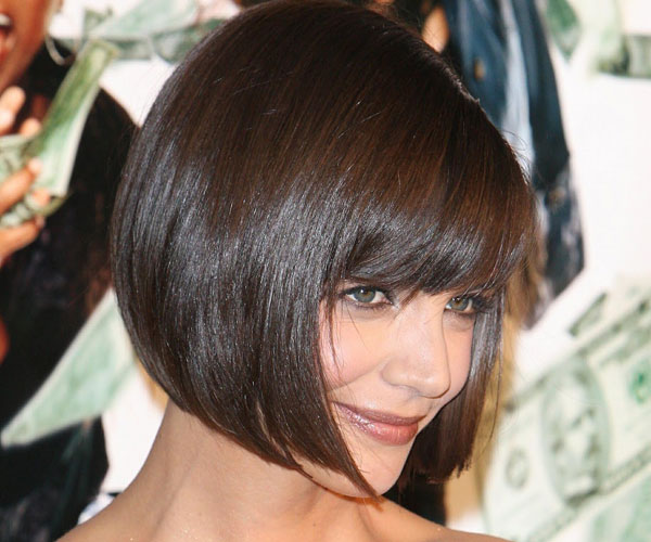 bob hair 30 Breathtaking Katie Holmes Hairstyles