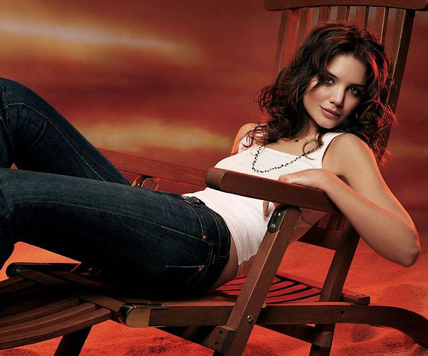 Katie Holmes Medium Hair