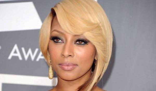 kelly twisted bob 40 Keri Hilson Hairstyles Which Are Super Sexy