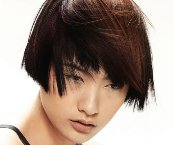 Short Layered Bob Hairstyle