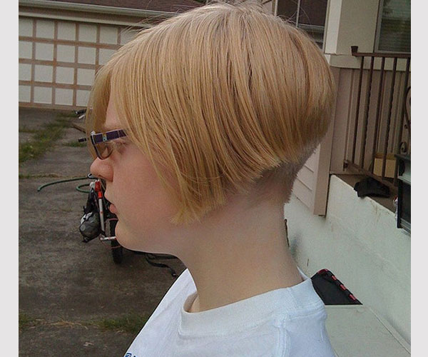 side view 30 Majestic Layered Bob Hairstyles