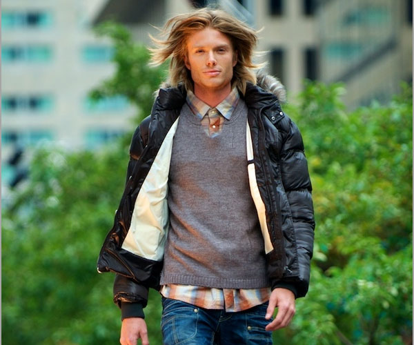 hunk on runway 35 Sensational Long Hairstyles For Men