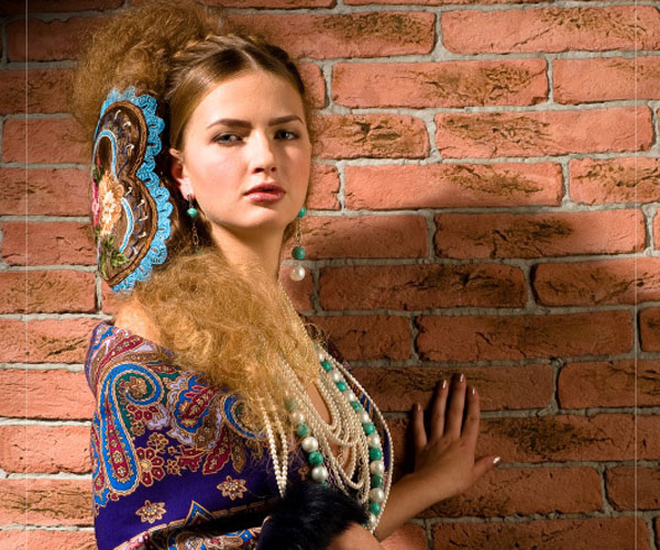 russian ball 30 Fascinating Long Hairstyles For Round Faces