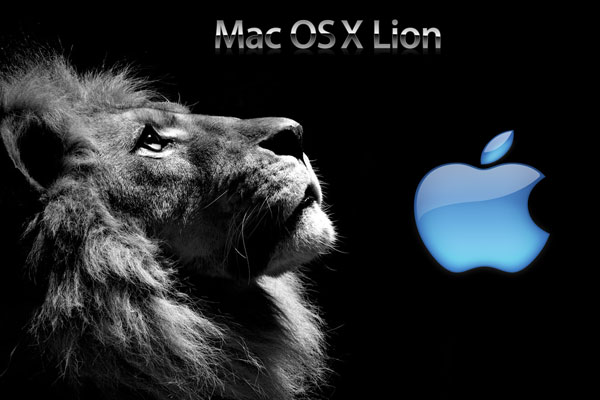 blue apple lion 30 Mac OS X Lion Wallpaper Collection You Cant Afford To Miss
