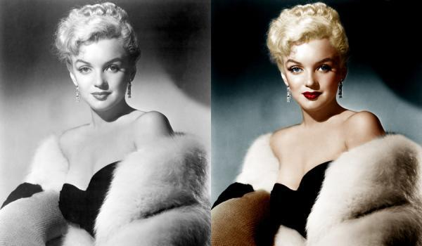 monroe coloured pictured 50 Extraordinary Marilyn Monroe Pictures