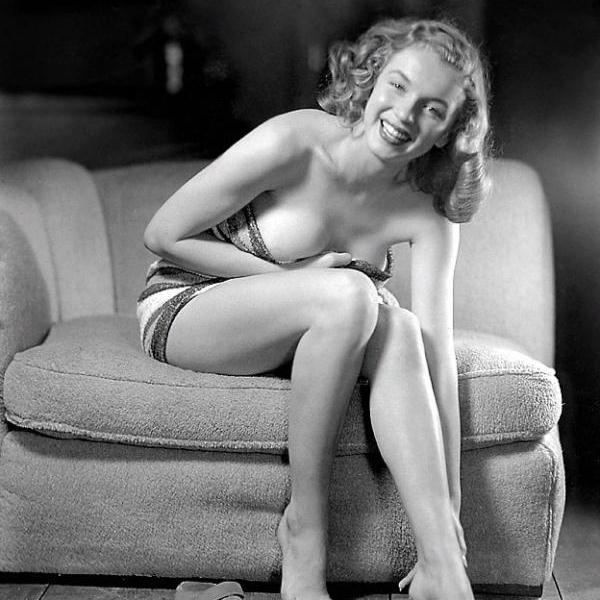 not famous for being shy 50 Extraordinary Marilyn Monroe Pictures