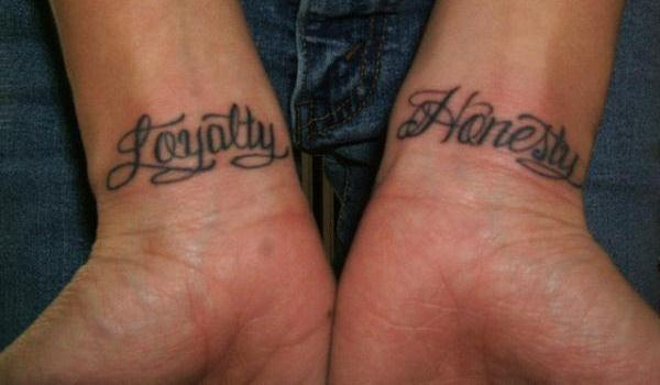 Loyalty Honesty