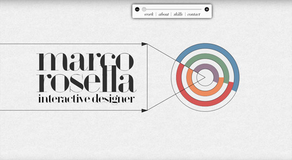 marcorosella 35 Amazing Minimalist Website Layouts
