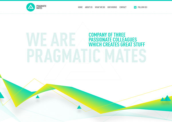 pragmaticmates 35 Amazing Minimalist Website Layouts
