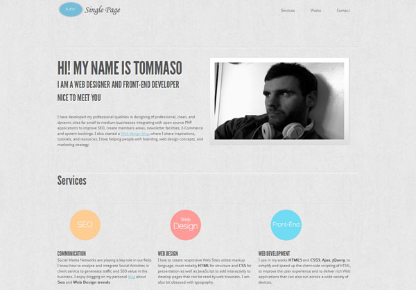 tommywebdesigner 35 Amazing Minimalist Website Layouts