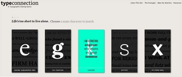 typeconnection 35 Amazing Minimalist Website Layouts