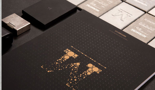concrete 30 Outstanding New Business Cards
