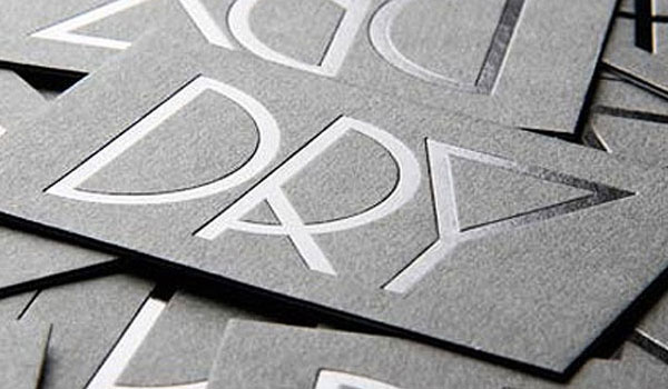 dry business card 30 Outstanding New Business Cards