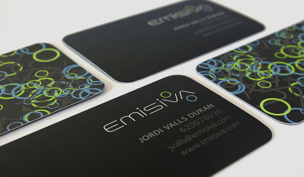 emisiva visiting cards 30 Outstanding New Business Cards