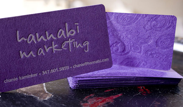 hannabi marketing 30 Outstanding New Business Cards