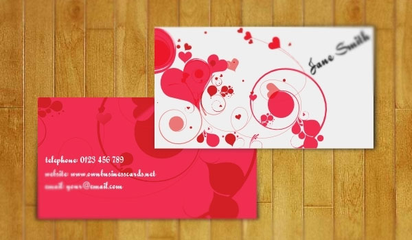 lovely business card 30 Outstanding New Business Cards