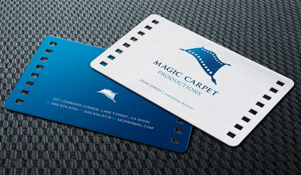 magic carpet productions 30 Outstanding New Business Cards