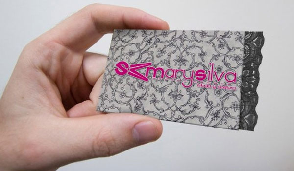 mary silva business card 30 Outstanding New Business Cards