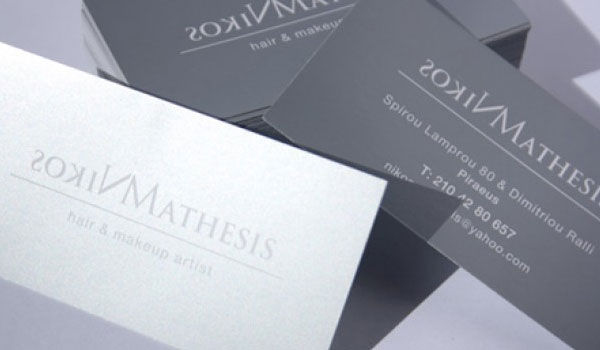 nikos mathesis 30 Outstanding New Business Cards