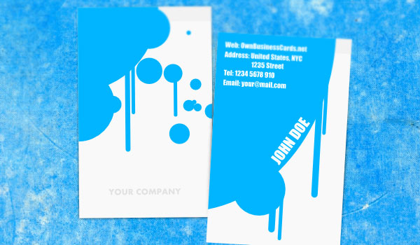 painter business card 30 Outstanding New Business Cards