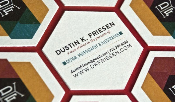 self promo business card 30 Outstanding New Business Cards