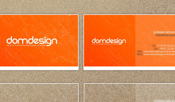 Business Card Domdesign
