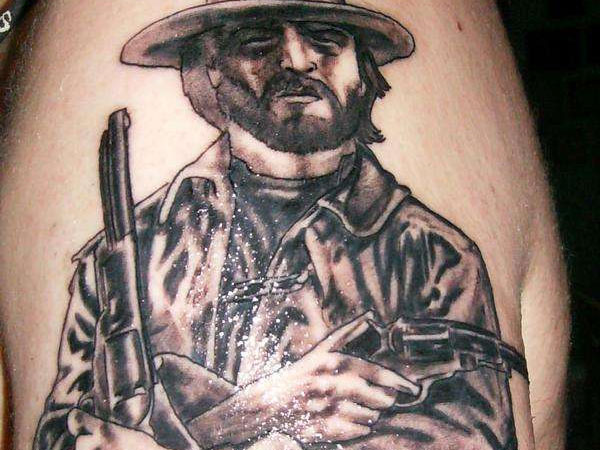 Outlaw Arm Tattoo