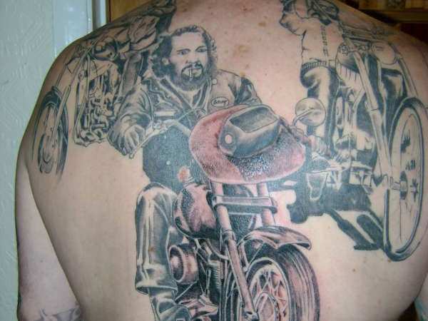 outlaw biker 20 Perfect Outlaw Tattoos