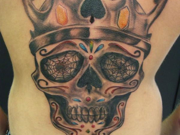 skull outlaw tattoo 20 Perfect Outlaw Tattoos
