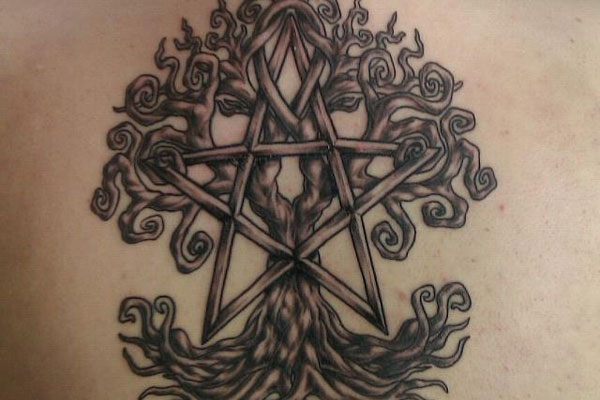 Pentacle Tattoo Designs 20 Awe Inspiring Collections Slodive