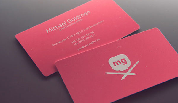 30 sweet pink business cards slodive mg creative colourmoves