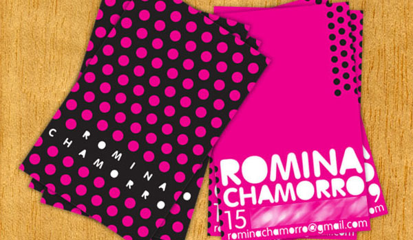 Romina Chomarro Business Card