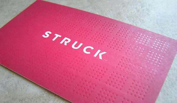 Struck Business Card
