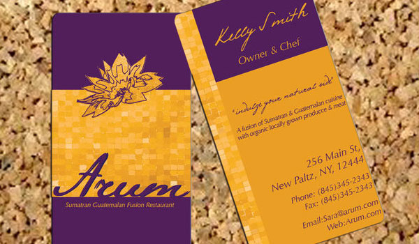 Arum Business Card