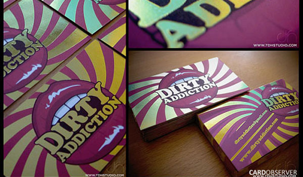 Dirty Addiction Business Card