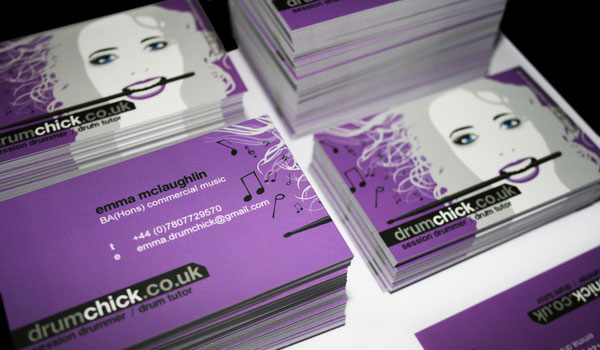 30 purple business cards for your inspiration slodive business card drumchick colourmoves