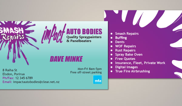Impact Business Card