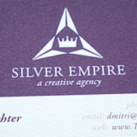 30 Purple Business Cards For Your Inspiration