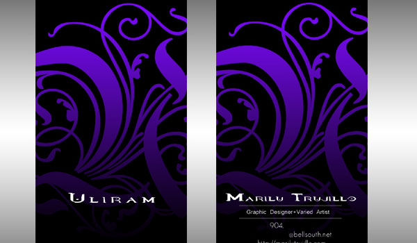 Uliram Business Card